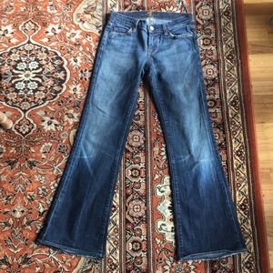 7 For All Mankind Jeans - 🎟 7 FOR ALL MAN KIND BELL BOTTOM JEANS SIZE 26